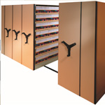 Mobile Shelving | MobilStor Rolling High Density Storage